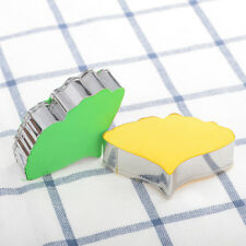 2*Stainless Steel Cake Kids Cookie Cutter Molds Baking Tools Cute Shape For Kids