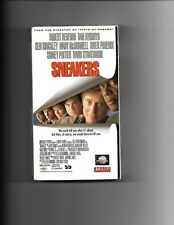 SNEAKERS, VHS  Comedy, Action & Suspense, Robert Redford, Sidney Poitier etc.