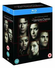 The Vampire Diaries - Complete Series Seasons 1-8 [Blu-ray Box Set Region Free]