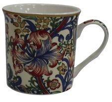 LEONARDO Collection Set 4 Chine Tasses Café William Morris Lis Doré Floral
