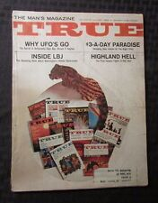 1966 TRUE Magazine v.47 #344 VG+ Antigravity Why UFOs Go Inside LBJ