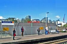 PHOTO  WANDSWORTH TOWN RAILWAY STATION UP PLATFORM 2012 VIEW NE ROUGHLY ABOVE TH