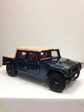 Exoto 1995 AM General Hummer Soft-Top / Blue Metallic / 1:18 / #TDT01805-B
