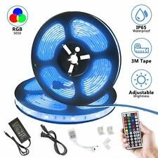 LED Strip Lights 32.8ft RGB SMD 5050 300LEDs LED Light Strip Waterproof Flexible