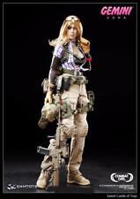 "DAM Toys Combat Girl Series 1/6 Scale 12"" Female Gemini Zona Action Figure"