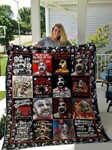 Captain Spaulding Fleece,Quilt Blanket Print In USA
