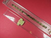 "Speidel Ladies Vintage 10K Gold Filled Mesh Watch Band.5 1/4""+Xtra LinkStretch.."