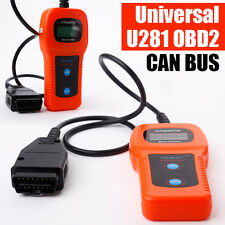Car Auto U281 CAN BUS OBDII OBD2 Diagnosegerät Scanner Testgerät VW Audi Skoda