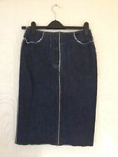 Topshop Patternless Denim Skirts for Women