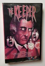 The Keeper VHS TWE 1976 Horror Christopher Lee Cult Elite Asylum HTF