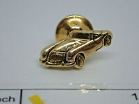 Convertible Sports Car 1950's 50s Silver Tone Vintage Retro Metal Lapel Pin