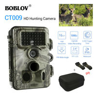 CT009 16MP 1080P Trail Game Camera Digital Animal IP66 Waterpoof +Portable Bag