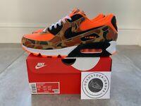 Nike Air Max 90 SP Total Orange Duck Camo UK 8.5 EU 43 Brand New With Receipt