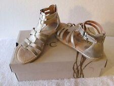 NIB BOC Eliana Womens Gladiator Sandals 6 Champagne Metallic MSRP$65