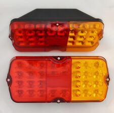 2x 24V LED-Leuchten Heckleuchte Lkw-anhänger Fahrwerk Tipper Lkw Bus