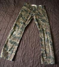 "LEVI's 510 SKINNY Girls Youth Fatigue Jeans Pants W 26"" X L 26"" Size 12 REG"