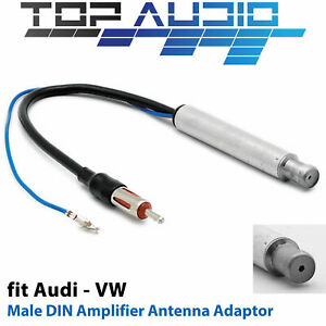 fit VW Audi Antenna Aerial OEM Adaptor cable adapter connector lead wire DIN