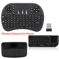 2.4GHz Wireless Keyboard Air Mouse /W Touchpad Handheld Remote Control PC Laptop
