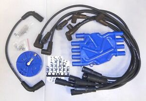 Distributor Cap/Rotor Kit/Spark Plug Wire Kit-VIN: R United Ignition Wire 1-7834