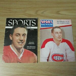 JEAN BELIVEAU   (17 DIFF)  Magazines  covers 1956  to  2014  MONTREAL CANADIENS