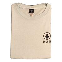 Volcom Baby Blue Basic Stone Logo T-Shirt | Size Small