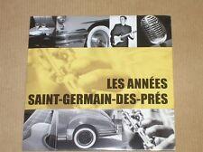 CD POCHETTE / LES ANNEES SAINT GERMAIN DES PRES / TRES BON ETAT