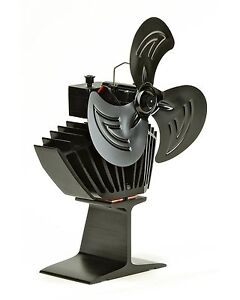 Stove Fan for Wood Burners & Multi Fuel Gas Stoves Oscillating Motion Great Gift
