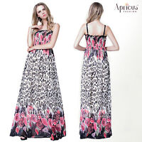 Plus Size Party Long Floral Prom Evening Maxi Dress UK 18 20 22 24 26 28 30 32
