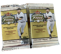 (2) 2002 Focus Jersey Edition Hobby Factory Sealed Packs MLB