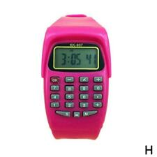 Kids Calculator Wrist Watch School Date/Time Children's Digital Sports New