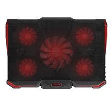 laptop cooler cooling pad with Silence 5pcs LED Fans USB 2.0 Adjustable Not N6K2
