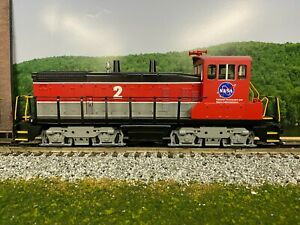 O - MTH RailKing 30-20657-1 NASA SW1500 Diesel Switcher w/Proto-Sound 3.0 O4740