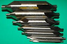 Gloster SET-7 Centre Drill Set consists 1 each BS1,2,3,4,5,6 and 7 drills