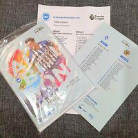 Brighton v Wolves Programme in sealed bag with teamsheet 8/12/19!!!