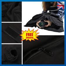 "24""x23"" Black Camera Film Changing Dark Room Photography Waterproof ZIPPER Bag"