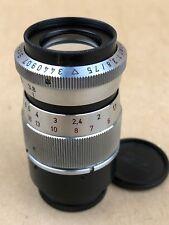 Schneider 75mm f/3.8 Tele-Xenar C-Mount Robot Lens Very Clean Glass !!