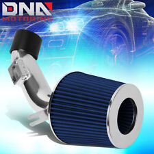 FOR 2006-2011 HONDA CIVIC DX LX HI-FLOW SHORT RAM AIR INTAKE SYSTEM+BLUE FILTER