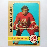 1972-73 OPC O-Pee-Chee #98 Bill MacMillan Atlanta Flames - VG