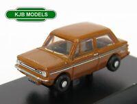 BNIB N GAUGE OXFORD DIECAST 1:148 NHI002 Hillman Imp Tangerine Metallic Car