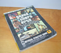 GTA SAN ANDREAS Official Strategy Guide Book Bradygames PS2 Grand Theft Auto