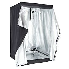 "48""x48""x78&#034 ;600D Indoor Grow Tent Room Reflective Mylar Hydroponic Non Toxic Hut"