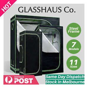 Glasshaus Grow Tent Kits Real 1680D Oxford Hydroponic Indoor Grow System 11-Size