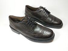 Rohde brown leather wingtip brogue shoes uk 9 eu 43