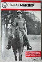 Vintage Booklet Horsemanship Boy Scout Of America Merit Badge Series 2005