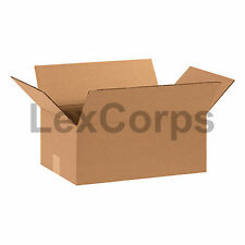 25 Qty 15x10x6 SHIPPING BOXES LC Mailing Moving Cardboard Storage Packing