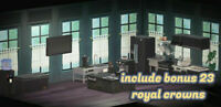New Horizons - 🔥Black Deluxe Luxury Style Kitchen Furniture Item Set + Crowns🔥