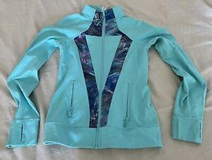 Ivivva By Lululemon Zip Up Long Sleeve Jacket Girls Size 14