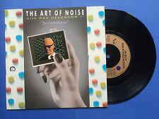 The Art Of Noise with Max Headroom - Paranoimia / Why Me, China Records WOK-9