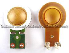 2pack Diaphragm for Crate PE-15H PE15H Horn Driver Speaker Repair