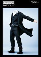 "TWTOYS 1/12 TW2031 Windbreaker Suit Shirt Pants Fit 6"" Male Crazy Figure Body"